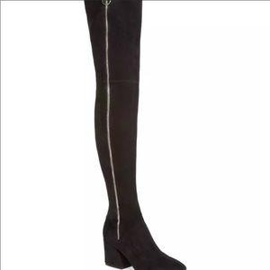 New Dolce Vita Vix Zip-Up Stretch Thigh Boots 7